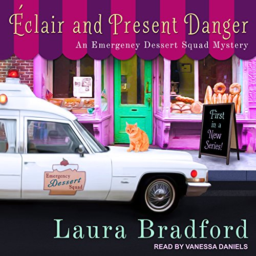 Éclair and Present Danger audiobook cover art