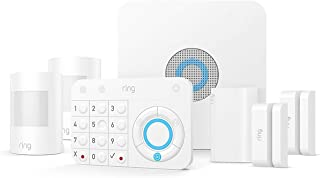 Ring Alarm 7 Piece Starter Kit with x2 Contact Sensors and x 2 Motion Sensors