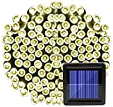 LDTSWES® Stringhe Di Luce Solare Per Bottlesoutdoor Luci Solari Esterne Impermeabili Led 22M Fari Autoalimentati Solari Ghirlanda Di Strada Di Natale Led Striscia Di Luce Per Giardino Ing Lampada