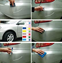 Makaor Colors Auto Car Coat Paint Pen Touch Up Scratch Clear Repair Remover Remove Tool Car Scratch Remover Fix, Titanium Silver