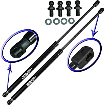 Maxpow 2pcs Rear Liftgate Gas Charged Lift Support Compatible With Nissan 240SX 1989-1990 4758