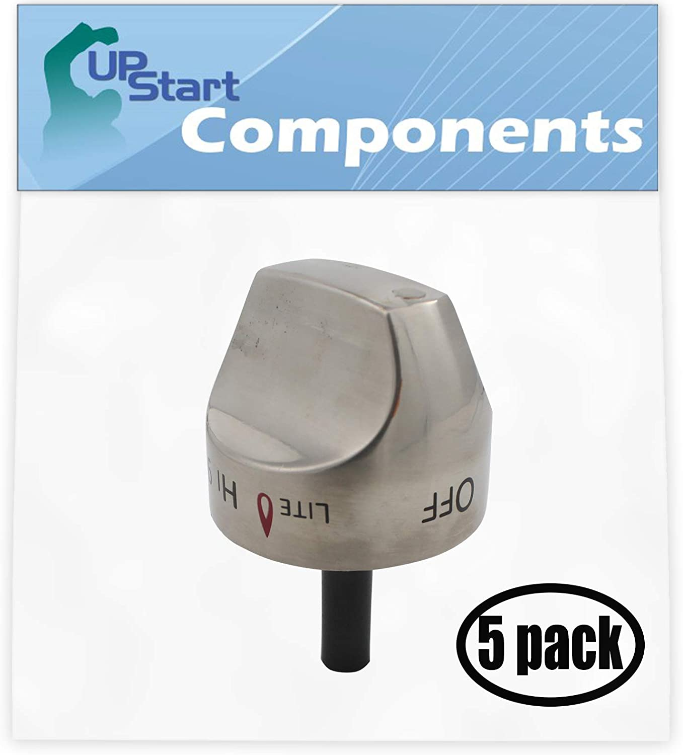 5 Max 90% OFF Max 70% OFF Pack Replacement Control Knob Stainless WB03K10265 St Assembly