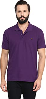AMERICAN CREW Half Sleeve Cotton Polo T Shirts for Men with Collar Vibrant Colors