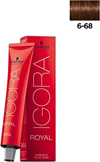 Schwarzkopf Igora Royal Permanent Hair Color - 6-68 Dark Auburn Blonde