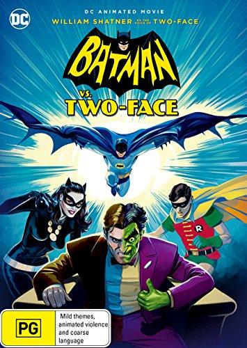 Batman vs Two-Face | Animated | NON-USA Format | PAL Region 4 Import - Australia