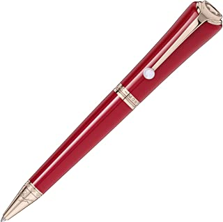 Montblanc Muses Marylin Monroe Special Edition Resin Red Ballpoint Pen 116068