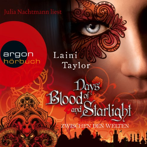 Days of Blood and Starlight audiobook cover art