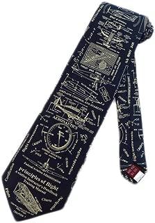Museum Artifacts Pilot Aeronautics Necktie - Blue - One Size Neck Tie