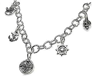Law Fetishes 925M Silver Bracelet Sailors 19cm. [Ab3615]