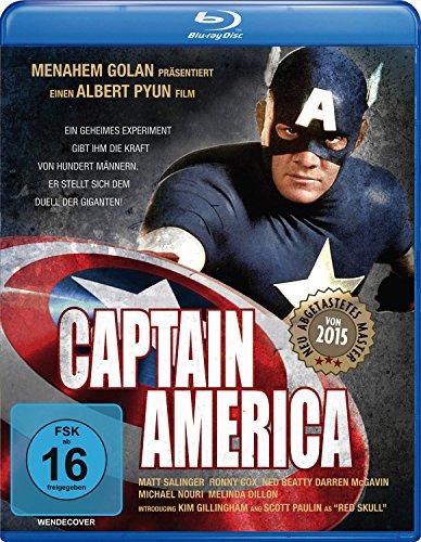 Captain America - Remastered [Blu-ray]