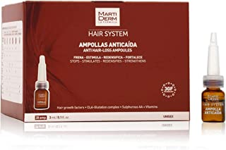Martiderm Hair System Anti Hair-Loss Ampoules - 28 units