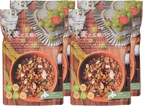 日本食品製造『大麦と五穀のグラノーラ』