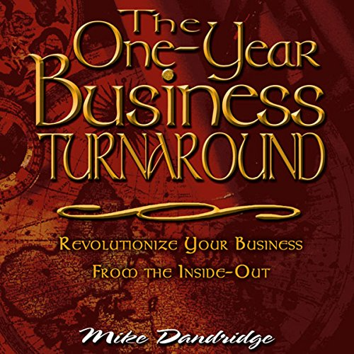 The One-Year Business Turnaround audiobook cover art