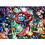 Ravensburger Most Everyone is Mad 1000 Piece Puzzle for Adults - Alice in Wonderland Theme, Every Piece is Unique, Softclick Technology Means Pieces Fit Together Perfectly