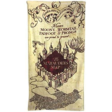 Harry Potter Marauders Map Towel