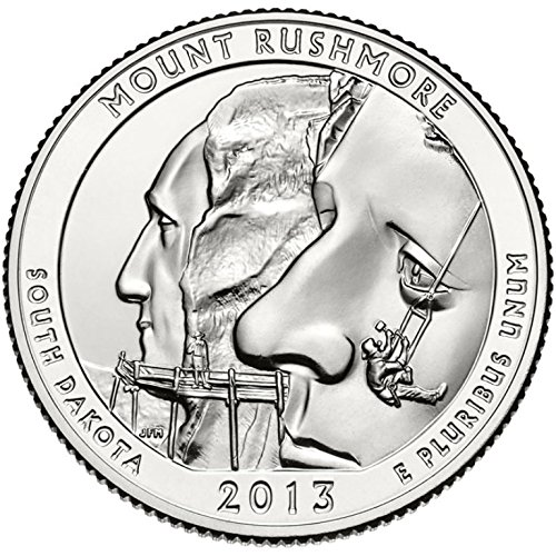 2013 D Mount Rushmore National Park – D 40 Coin Bankroll Uncirculated