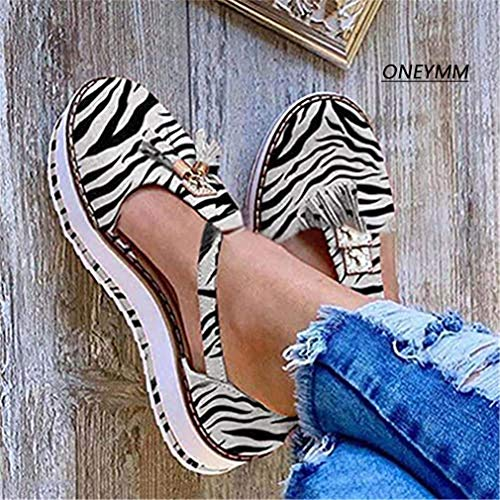 JSONA Summer Women Strap Sandals Women's Flats Open Toe Solid Casual Shoes Rome Wedges Thong Sandals Sexy Ladies Shoes,Blue,39