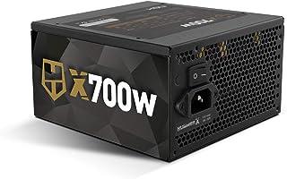 Nox Hummer X 700W 80 Plus Bronze - NXHUMMERX700WBZ - Fuente de Alimentación (700 W), Color Negro