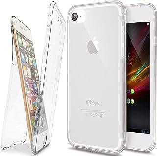 جراب iPhone 5S، جراب iPhone SE، جراب iPhone 5، ikasus [Full Body 360 Cover] فائق النحافة مقاوم للخدش من الأمام + غطاء خلفي...
