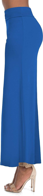 Full High Waisted Elegant Foldover Long Maxi Basic Lounge Skirts for Women