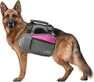 Go Fresh Pet Trail Pack Backpack & Harness Dog Walking & Hiking Gear Saddlebags Pockets Reflective