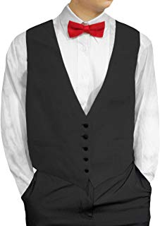 Mens Waiters/Bartenders Five Button Vest