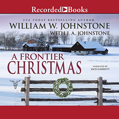 A Frontier Christmas audiobook cover art
