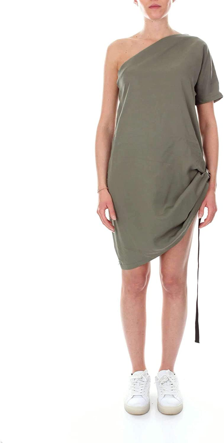 Numero00 Women's 2383GREEN Green Cotton Dress