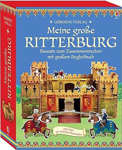 Meine große Ritterburg: Bausatz zum Zusammenstecken mit großem Begleitbuch
