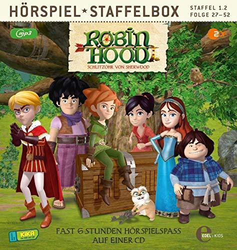 Robin Hood - Schlitzohr von Sherwood - Staffelbox 1.2 Folge 27 - 52 (mp3-CD)