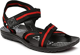 PARAGON SLICKERS Men's Red Sandals