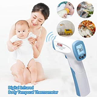 Multifuntional Infrared Thermometer, Baby Thermometer Digital Adult Forehead Non-contact Thermometer With LCD Backlight Termometro Color Alarm