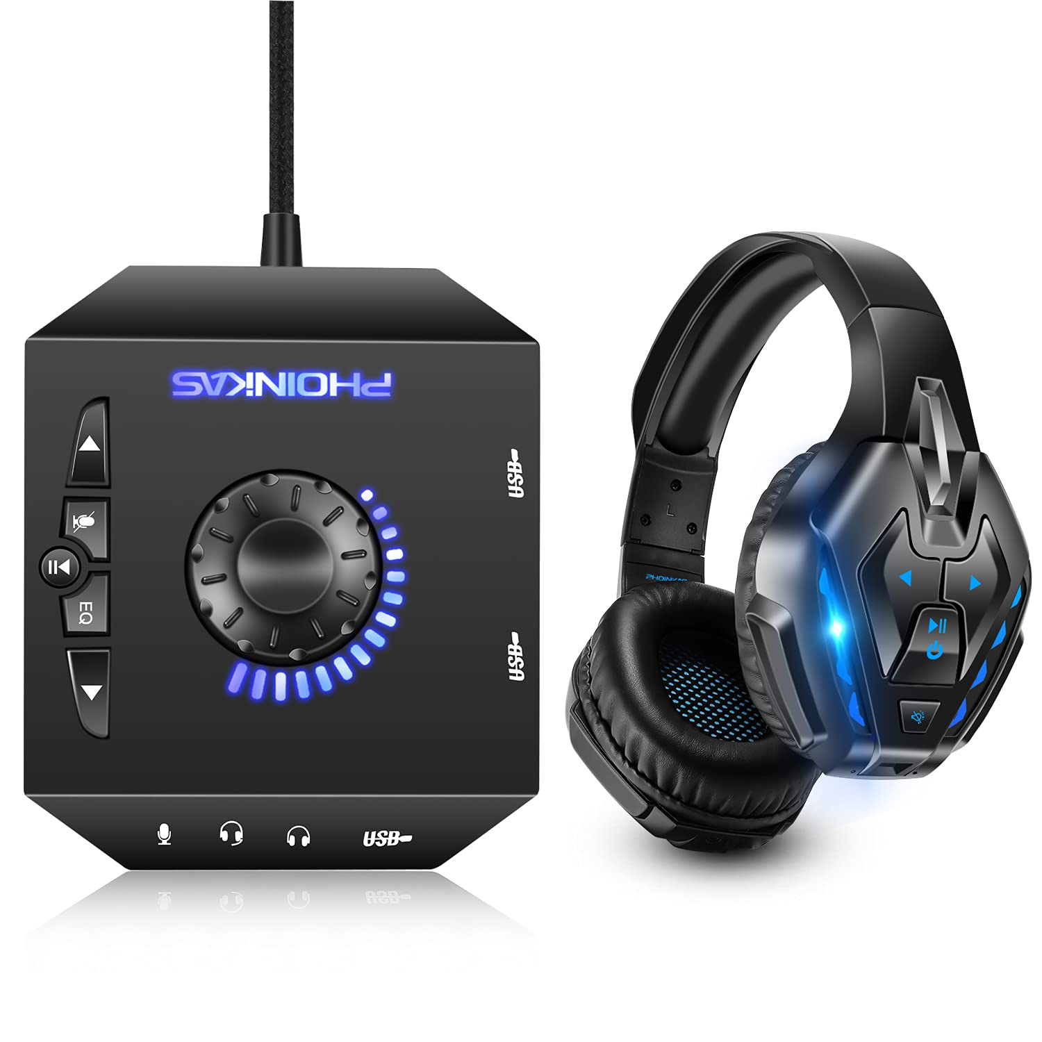 T10 External Sound Card B3510 Wired Headset Gaming PC for NEW before selling PS4 Cheap mail order sales