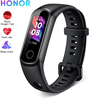 Honor Band 5i Smartwatch,Pulseras de Actividad con Podómetro ,Pulsómetro,Monitor de Actividad Deportiva,Impermeable IP68 Fitness Tracker,Negro (Versión Global)
