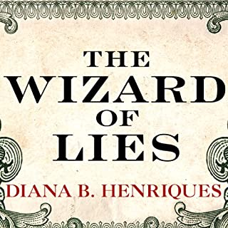 The Wizard of Lies audiobook cover art