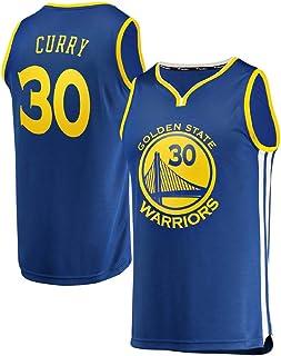 CspJersp Hombre Tejido Bordado Warriors de Curry Jersey de Adulto 30