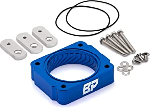 BlackPath - Fits Ford + Lincoln Crown Victoria + Town Car + Navigator Throttle Body Spacer Performance (Blue) T6 Billet
