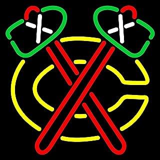 chicago blackhawks neon bar sign
