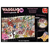 Wasgij Destiny 18 - Fast Food Rausch - 1000 Teile Puzzle