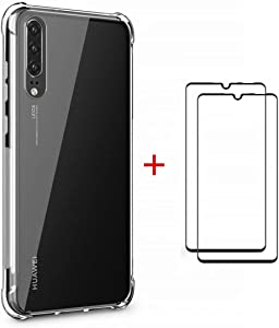 SHYHONG compatible Case Huawei P30 Case Transparent TPU Silicone cover...