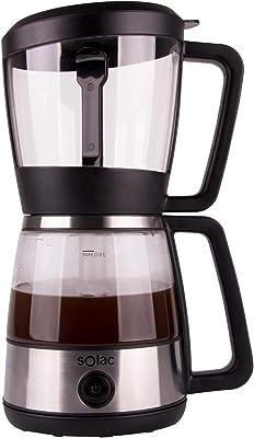 Solac S Brewer Cafetera Sifón de Extracción Al Vacío, color Metálico