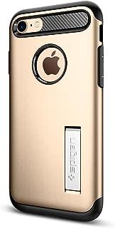 Capa Protetora Case Slim Armor Iphone 7/8, Spigen, Capa Anti-Impacto, Champagne/Gold