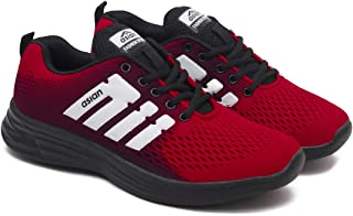 ASIAN Men's Nasa-22 Gym Shoes,Knitted Sports Shoes,Walking Shoes,Casual Shoes,Fabric Fabric Running Shoes