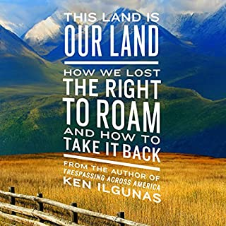This Land Is Our Land audiobook cover art