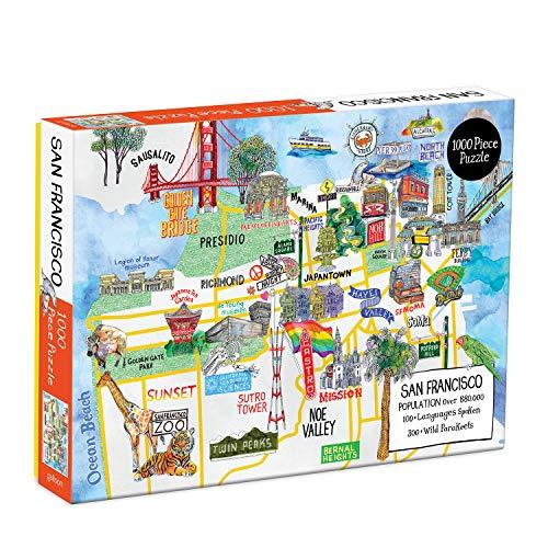Puzzle - San Francisco: 1000 Piece Puzzle