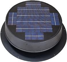 Ultra Low-Profile 24-watt Natural Light Solar Attic Fan