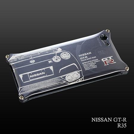 日産(NISSAN)GT-R ジュラルミンiPhoneケース for R35 (iPhone6 plus/6S plus)