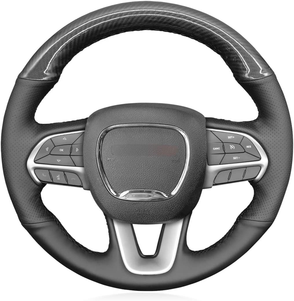 MEWANT Car Steering Wheel Cover Outstanding Handstiching Customized Perforat Columbus Mall
