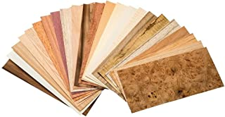 Sauers Mixed Variety Domestic & Exotic Veneer Pack, 10 sq ft Pack