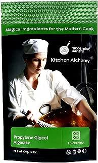 Pure Propylene Glycol Alginate (PGA) Powder ⊘ Non-GMO ❤ Gluten-Free ☮ Vegan ✡ OU Kosher Certified - 400g/14oz